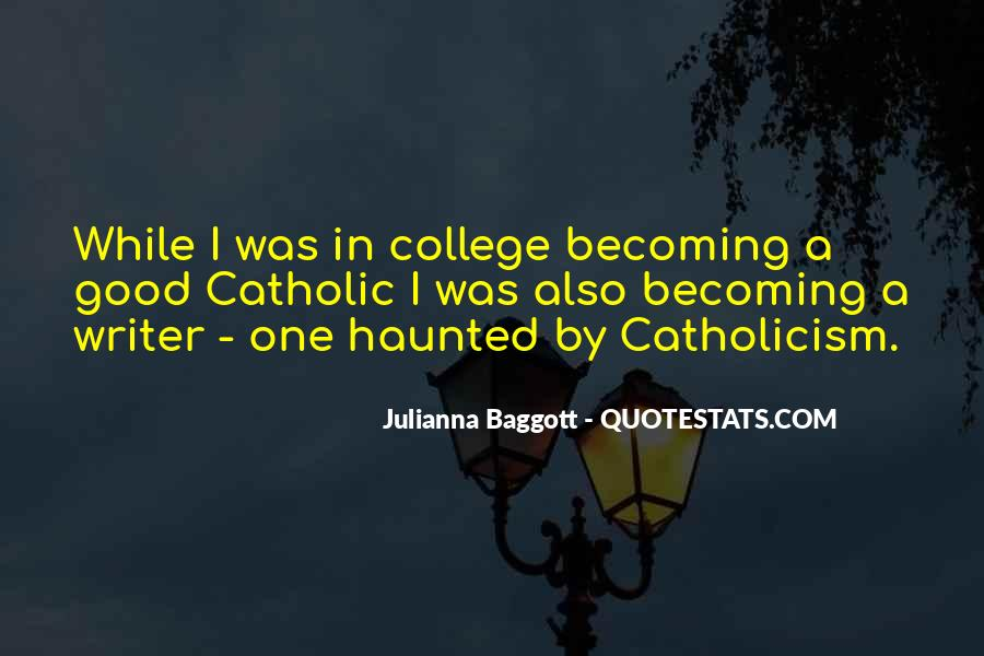 Quotes About Baggott #990193