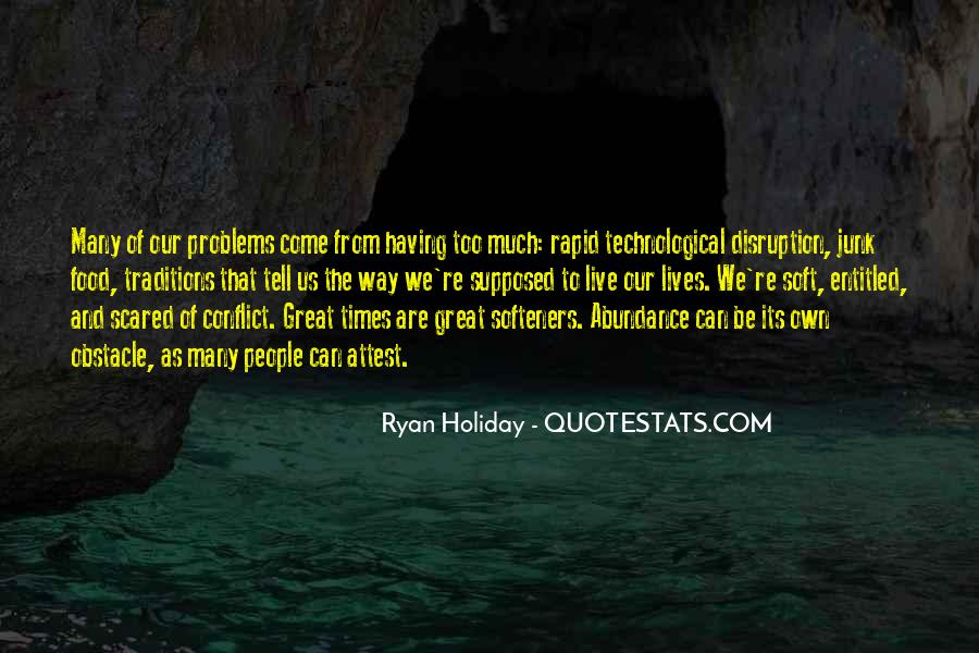 The Obstacle Is The Way Ryan Holiday Quotes #1434834