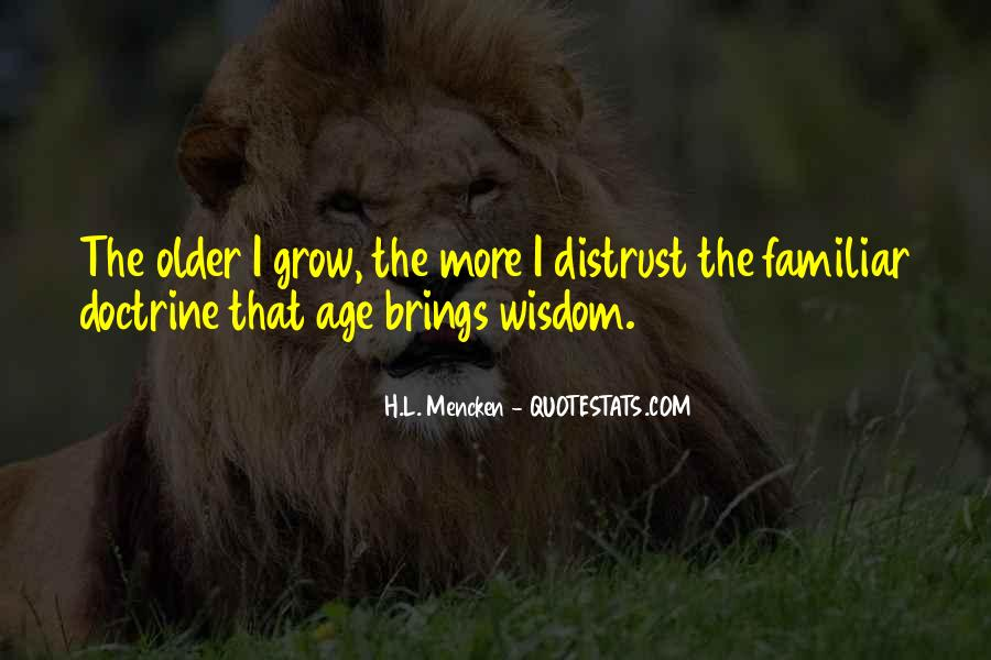 The Older I Grow Quotes #1671153