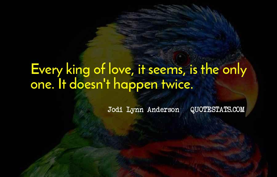 The Only One Love Quotes #108305