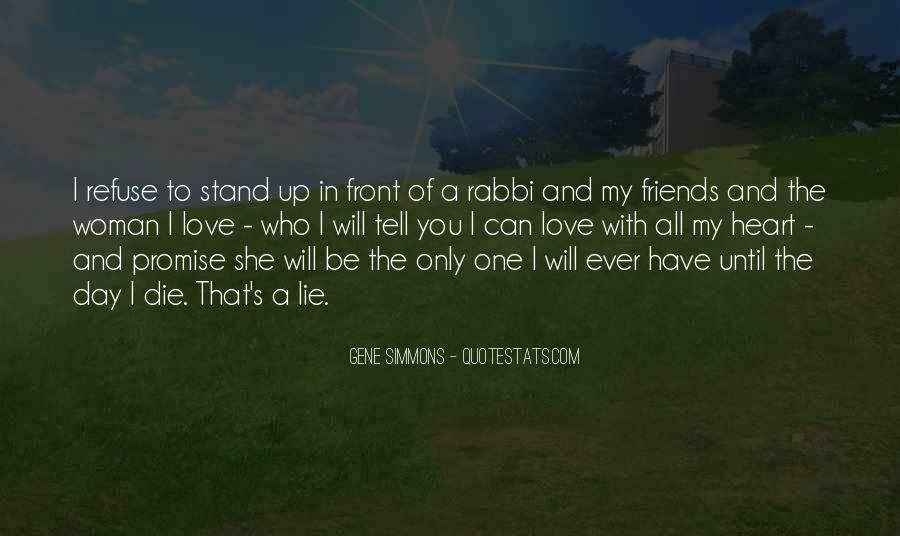 The Only One Love Quotes #120912