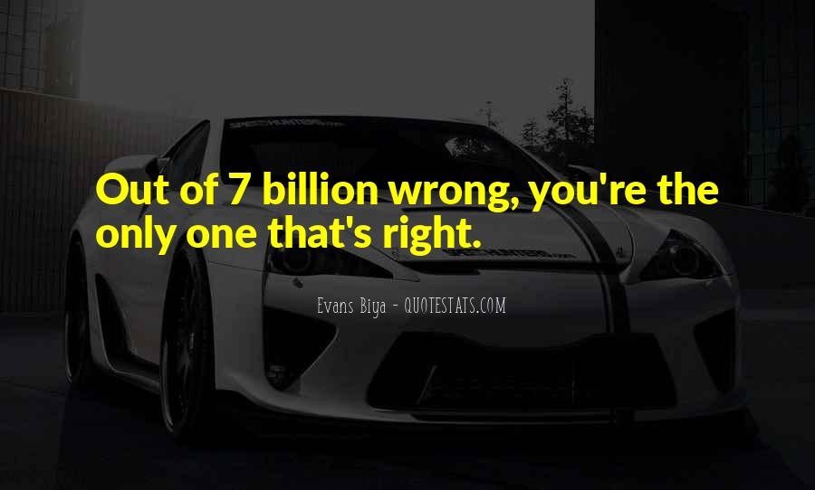 The Only One Love Quotes #124041