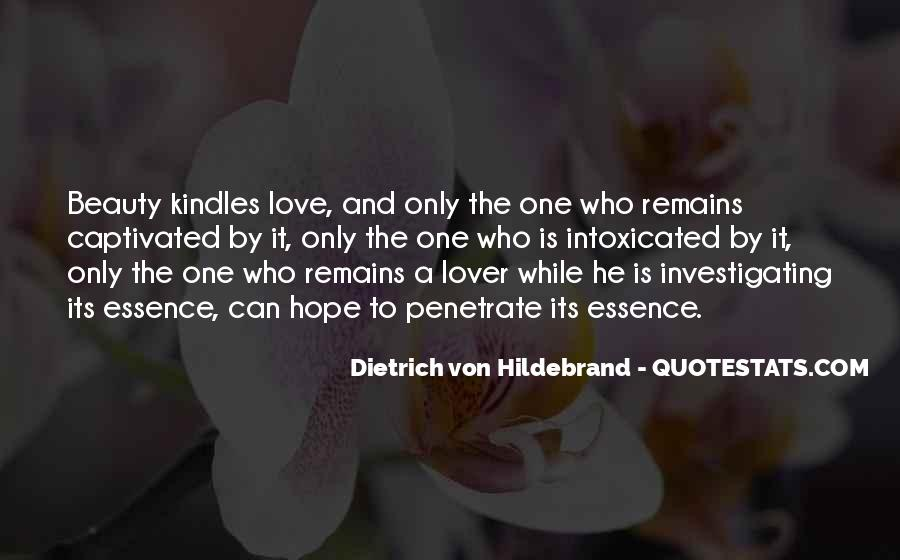 The Only One Love Quotes #13768