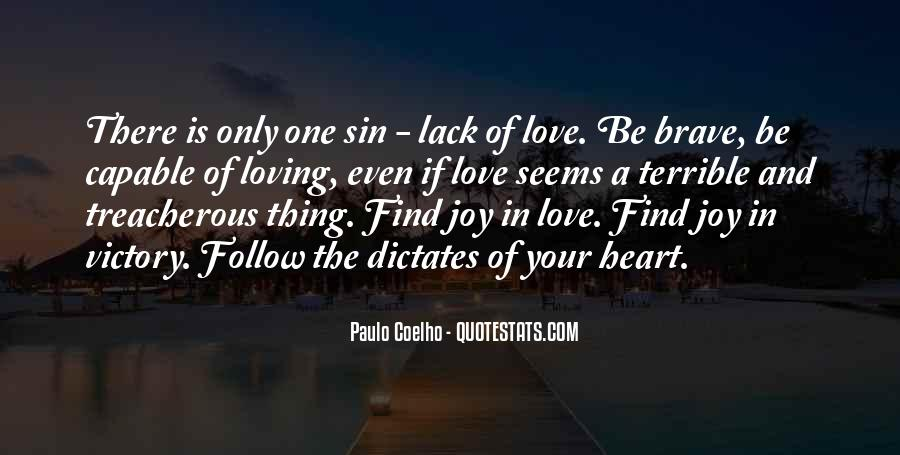 The Only One Love Quotes #170876