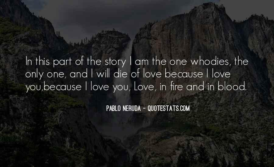 The Only One Love Quotes #36812
