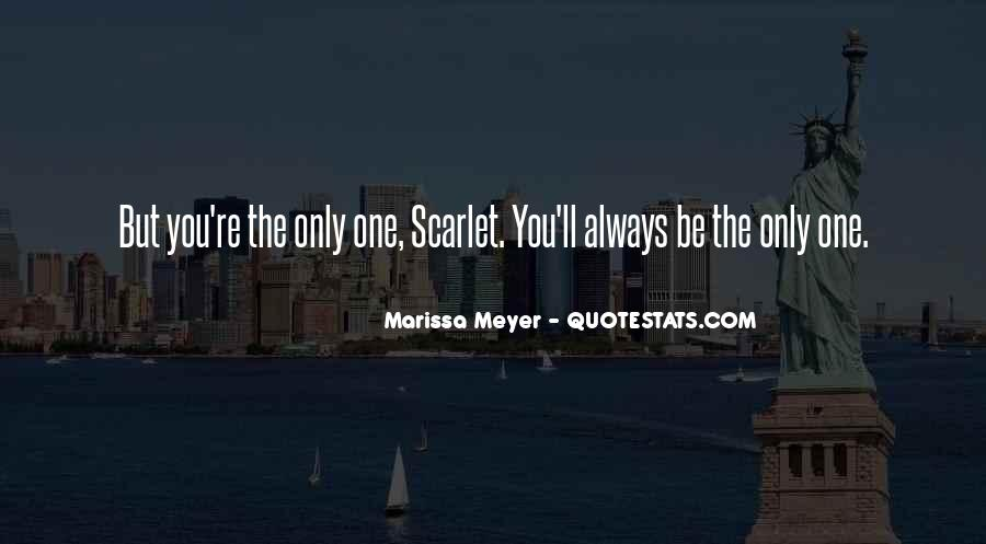 The Only One Love Quotes #4866