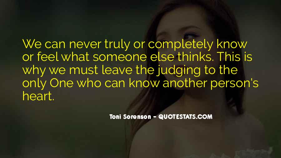 The Only One Love Quotes #65227