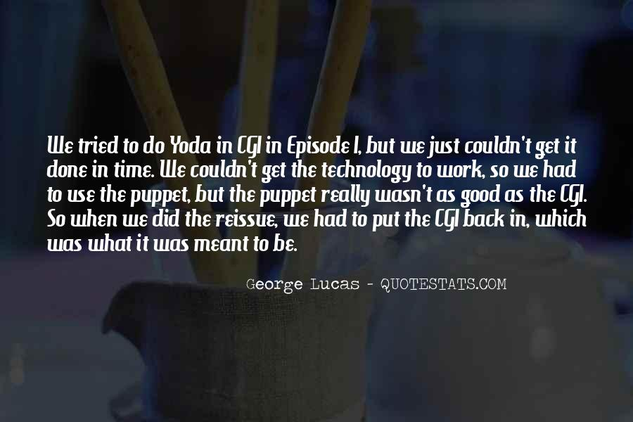 Quotes About Yoda #1278076