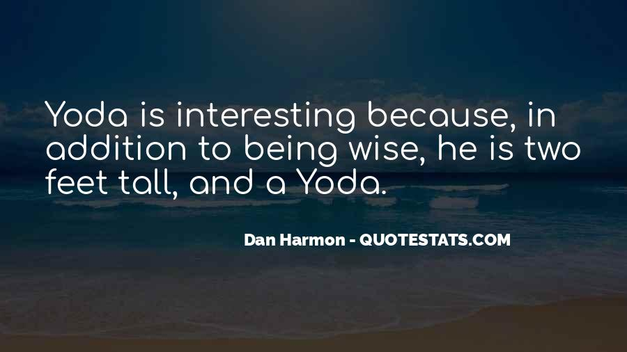 Quotes About Yoda #154766