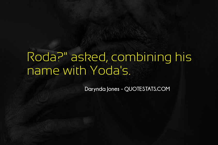 Quotes About Yoda #374499