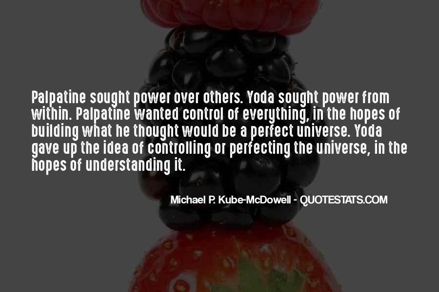 Quotes About Yoda #445328