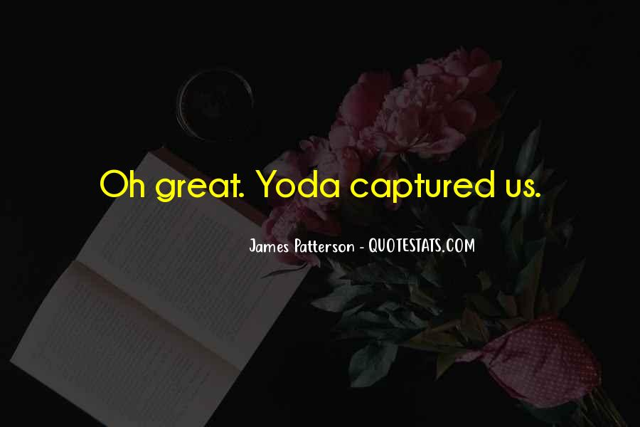 Quotes About Yoda #485367
