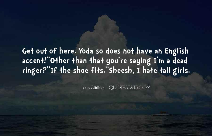 Quotes About Yoda #676314