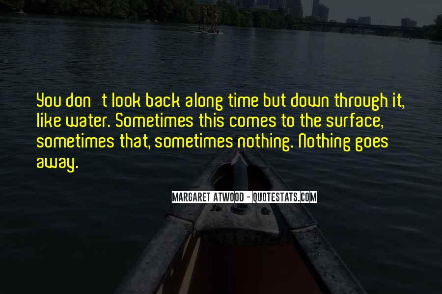 The Only Time You Should Look Back Quotes #137730