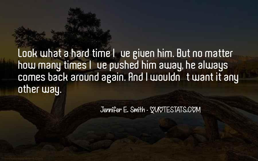 The Only Time You Should Look Back Quotes #139139