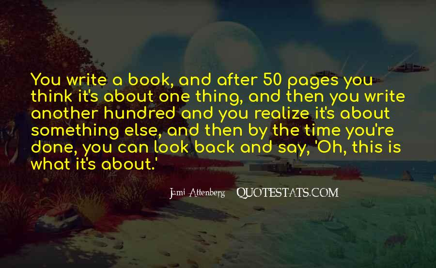 The Only Time You Should Look Back Quotes #172092