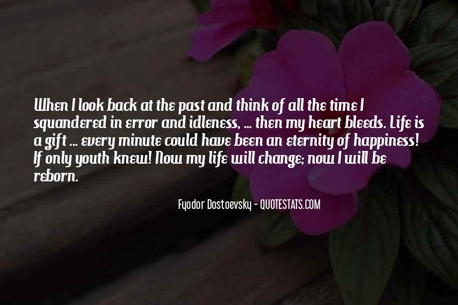 The Only Time You Should Look Back Quotes #252541