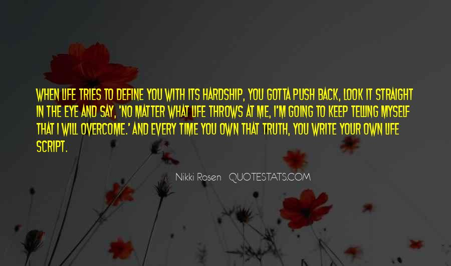 The Only Time You Should Look Back Quotes #80344