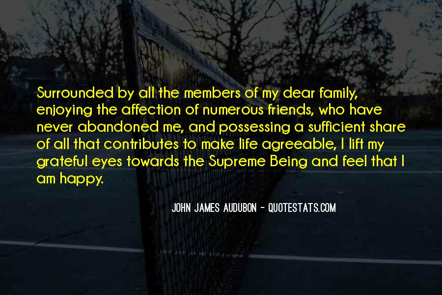 Quotes About Being Grateful For Friends And Family #1363695