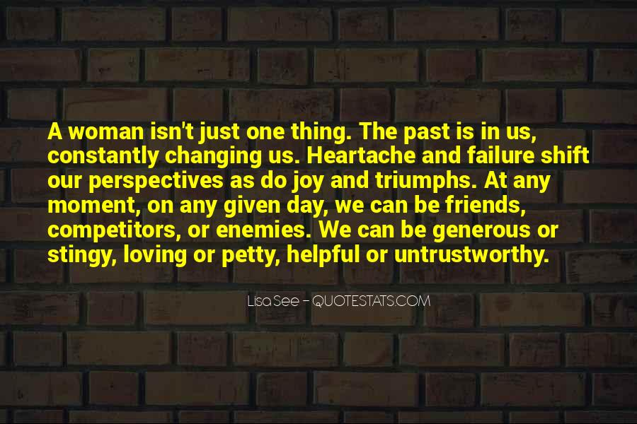 The Past Friends Quotes #732588