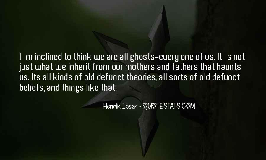 The Past Still Haunts Me Quotes #382390