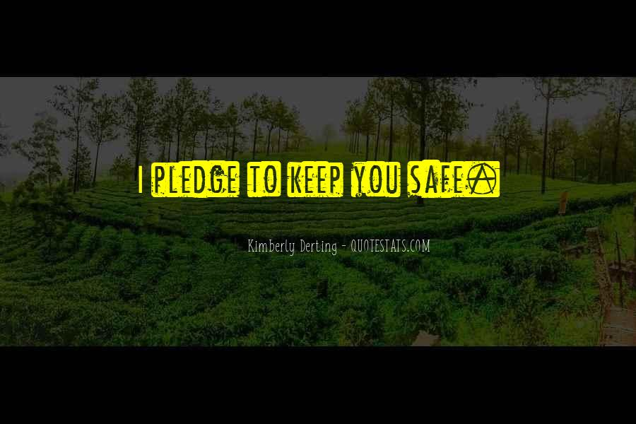 The Pledge Kimberly Derting Quotes #1277586