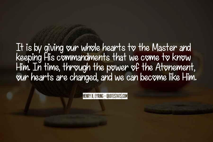 The Power Of Giving Quotes #189707