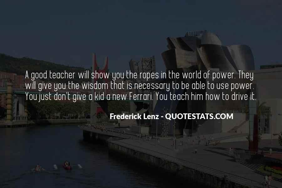 The Power Of Giving Quotes #399645