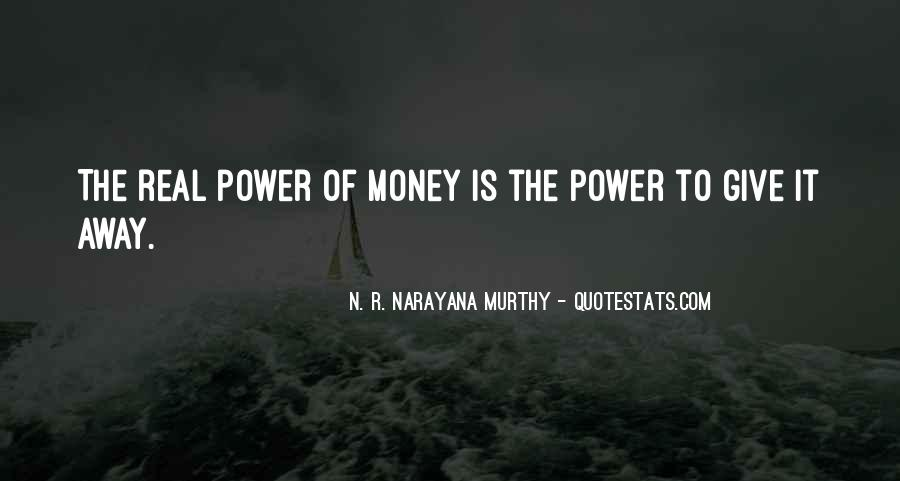 The Power Of Giving Quotes #78731