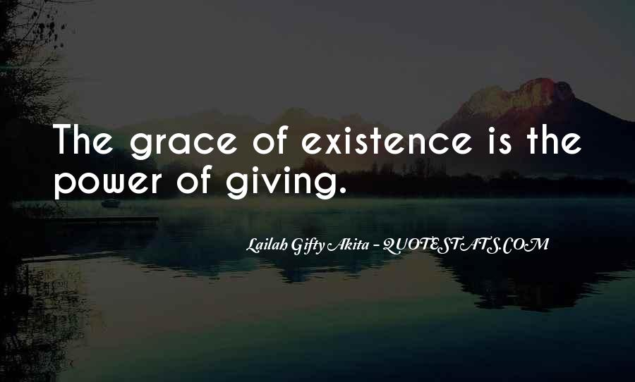 The Power Of Giving Quotes #794413