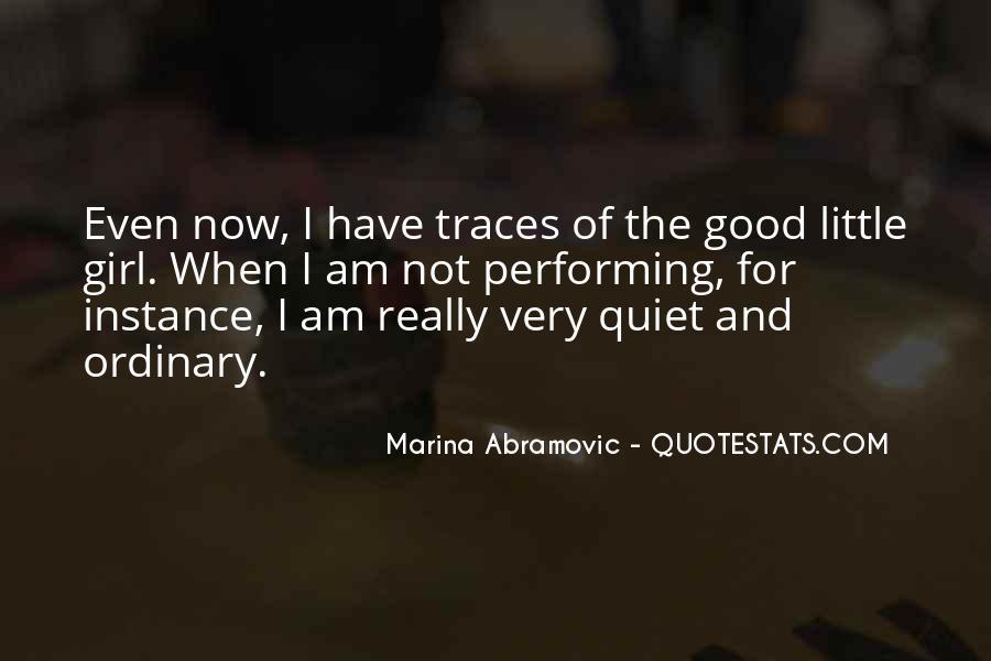 The Quiet Girl Quotes #106318