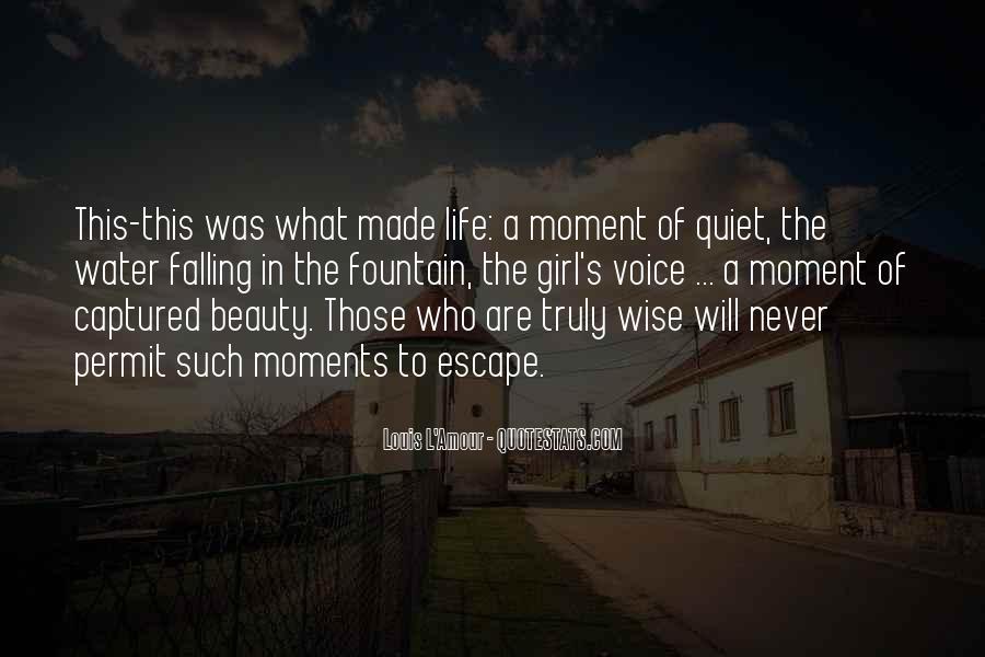 The Quiet Girl Quotes #1399360