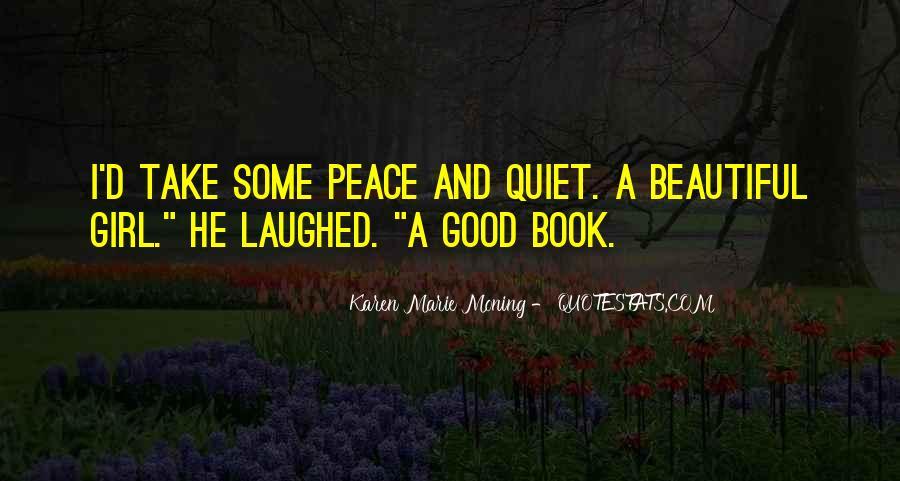 The Quiet Girl Quotes #1500625
