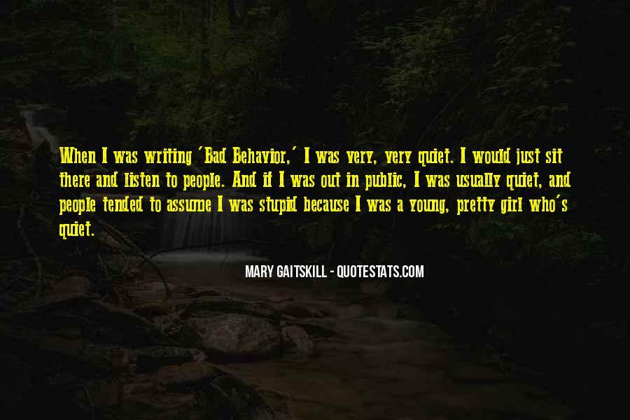 The Quiet Girl Quotes #1618401