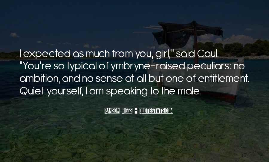 The Quiet Girl Quotes #1780310