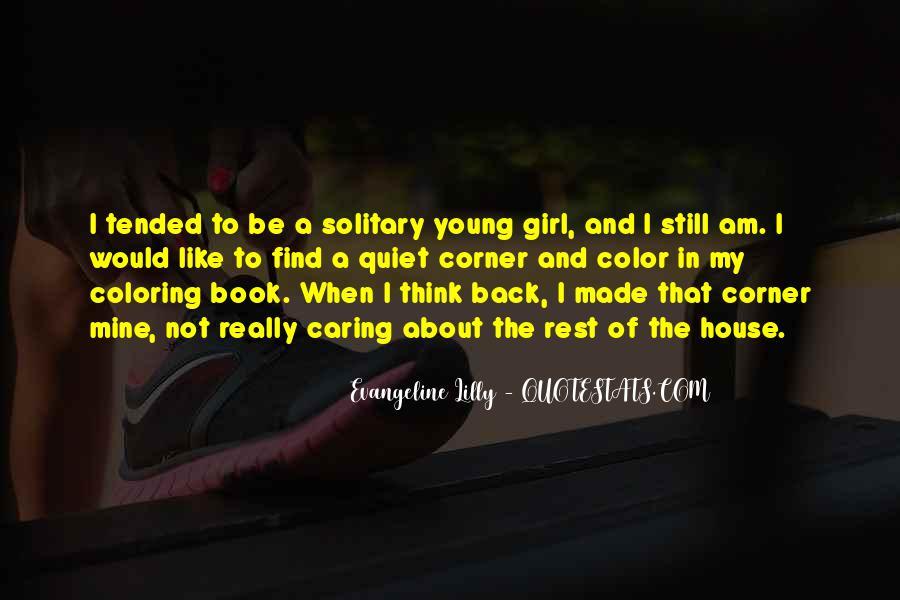 The Quiet Girl Quotes #753199