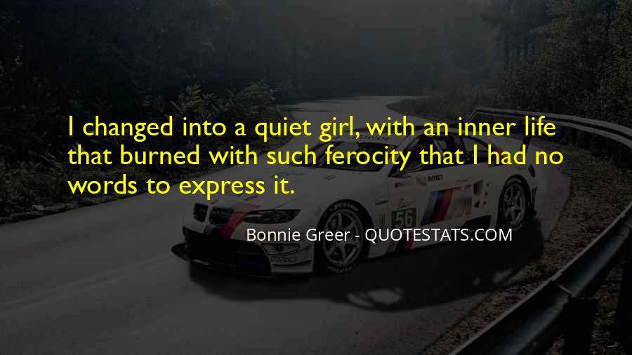 The Quiet Girl Quotes #912267