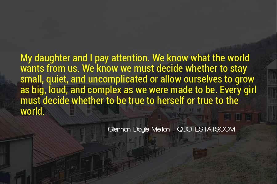 The Quiet Girl Quotes #986799