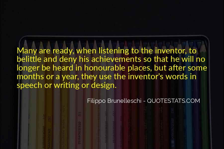 Quotes About Filippo Brunelleschi #1050059