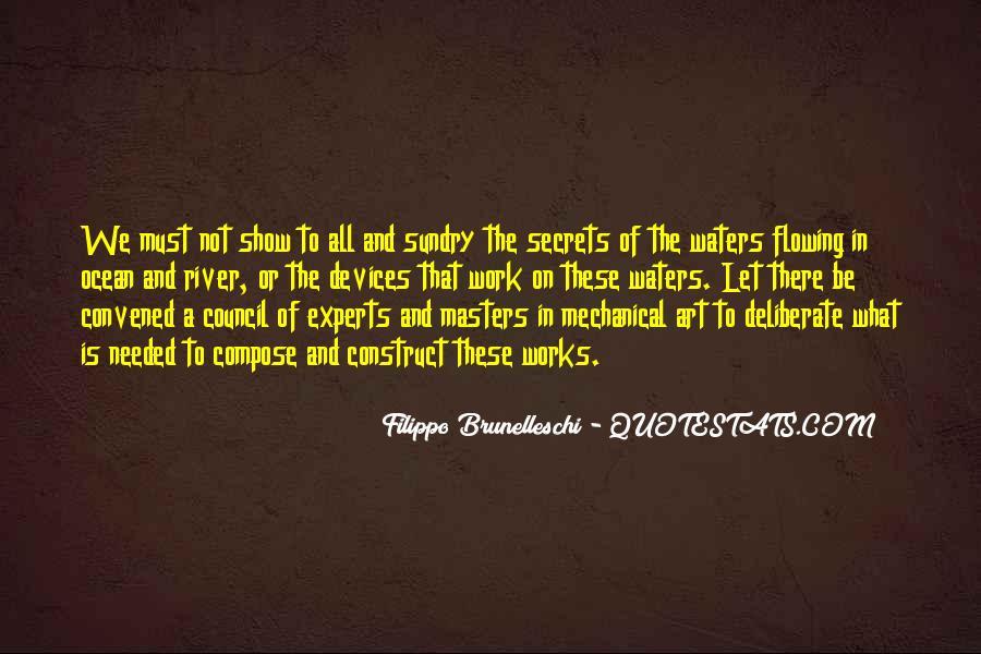 Quotes About Filippo Brunelleschi #1148055
