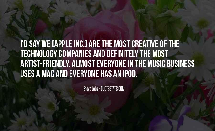 Quotes About Apple Inc #62846