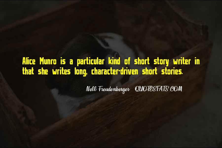 Quotes About Alice Munro #198193