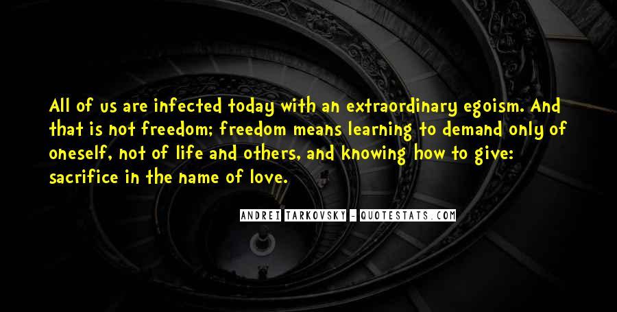 The Sacrifice Andrei Tarkovsky Quotes #1428479