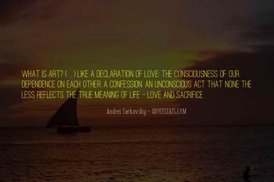 The Sacrifice Andrei Tarkovsky Quotes #575125