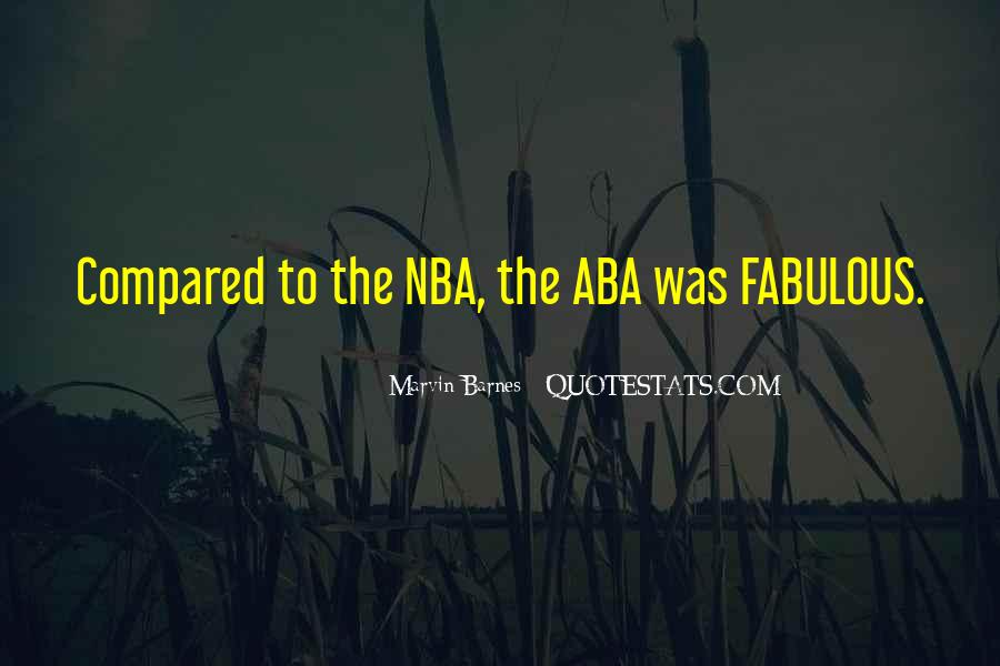 Quotes About Aba #1848462