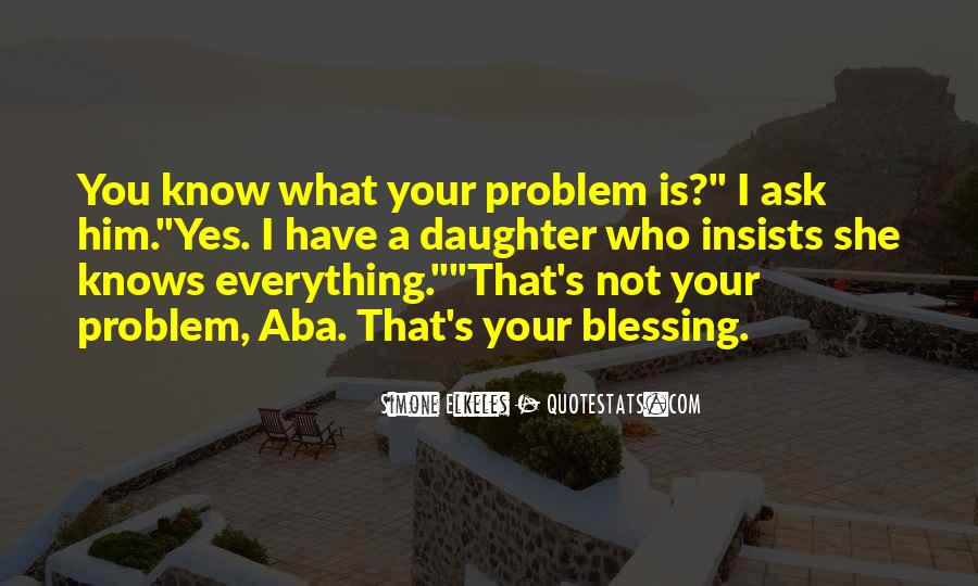 Quotes About Aba #495946
