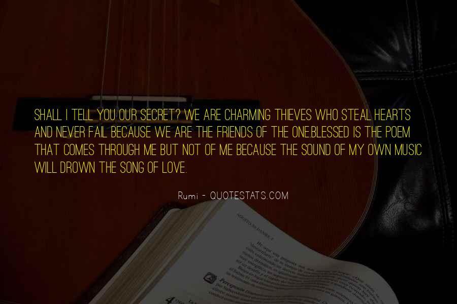 The Secret Love Quotes #121681