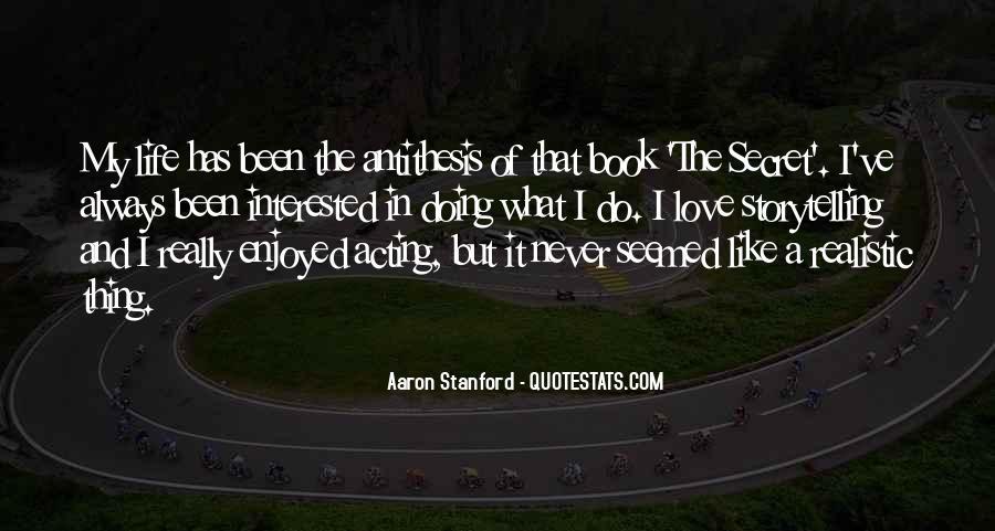 The Secret Love Quotes #138382