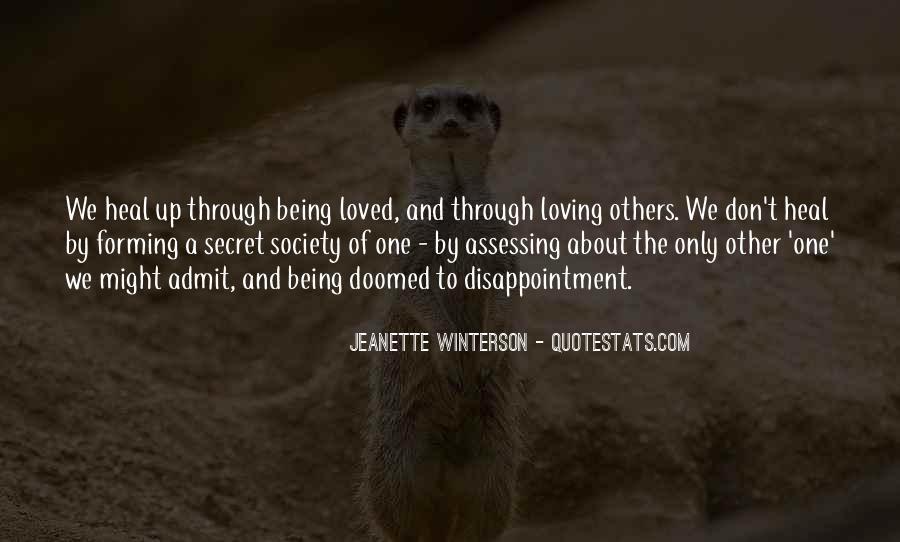 The Secret Love Quotes #153232