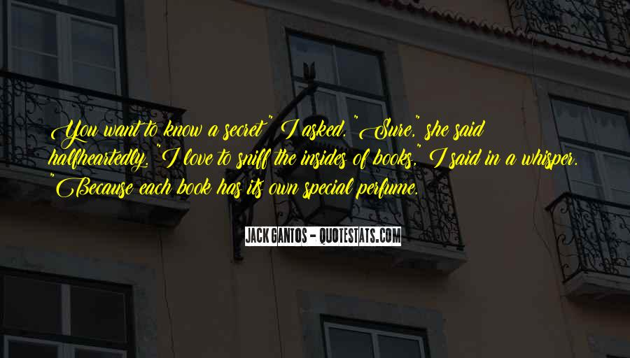 The Secret Love Quotes #155693